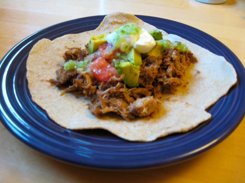 Week 18 – Tomatillos and Slow Cooked Pork Carnitas (6/6)