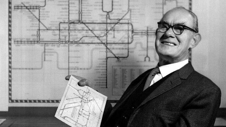 Harry Beck e seu mapa do metrô