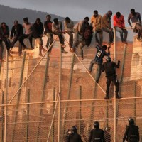 More Than 200 Would-Be Migrants Attempt To Jump Melilla Border Fence