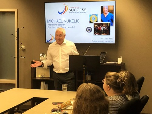 Michael Vukelic Presents a Life-Changing Seminar