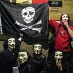 Guerrilha eletrônica, estreia global