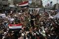 Ditadura do Iêmen está nas últimas. Estudantes na rua e oposição moderada debatem futuro do país e destino do presidente