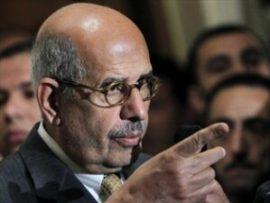 El Baradei,  premiado com o Nobel da Paz de 2005, renuncia após massacre