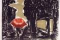 Chove uma chuva fininha e sem fim. Não penso nas mulheres que amei. Penso humildemente na sensação antiga, ancestral, de que as quedas lavavam um pouco os pecados do mundo