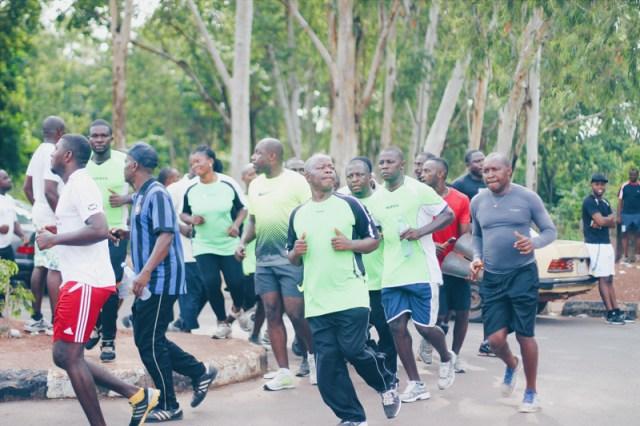 Joggers, Michael Opara Square, Enugu