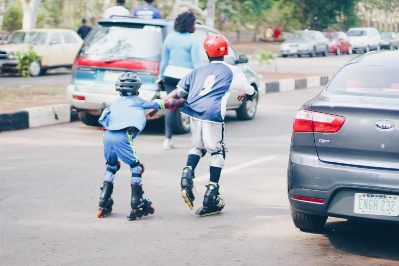 saturday morning workout in Okpara Square Enugu