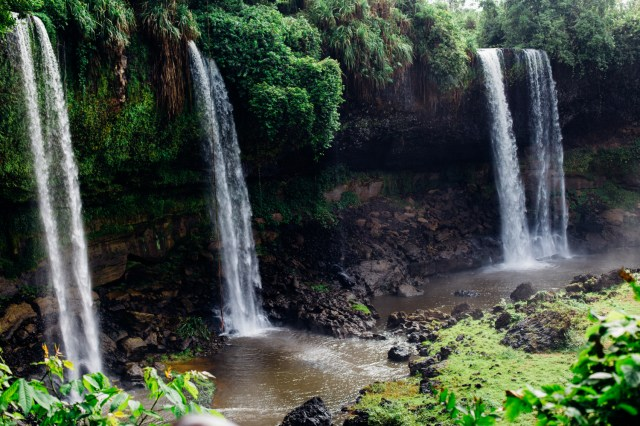 Agbokim Waterfall Showing 4 Rivulets