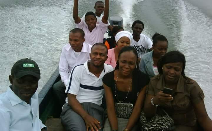 Boah ride at oguta lake
