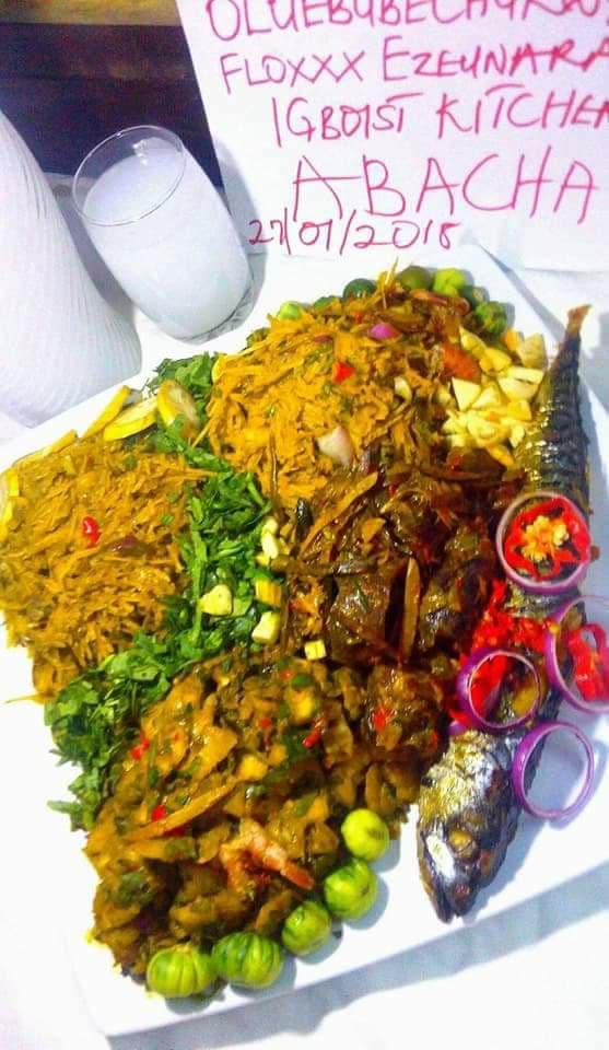 abacha by igboist kitchen