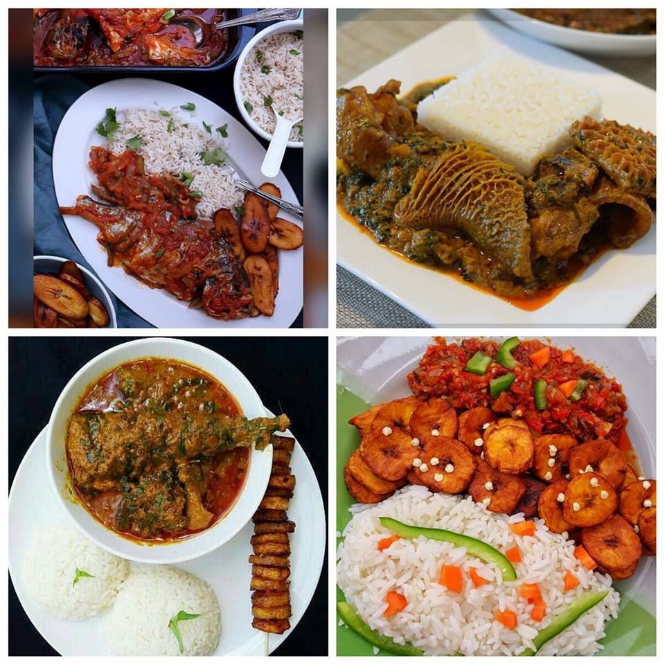 Igboist Kitchen, Sunday Edition. ''White Rice and Stew''