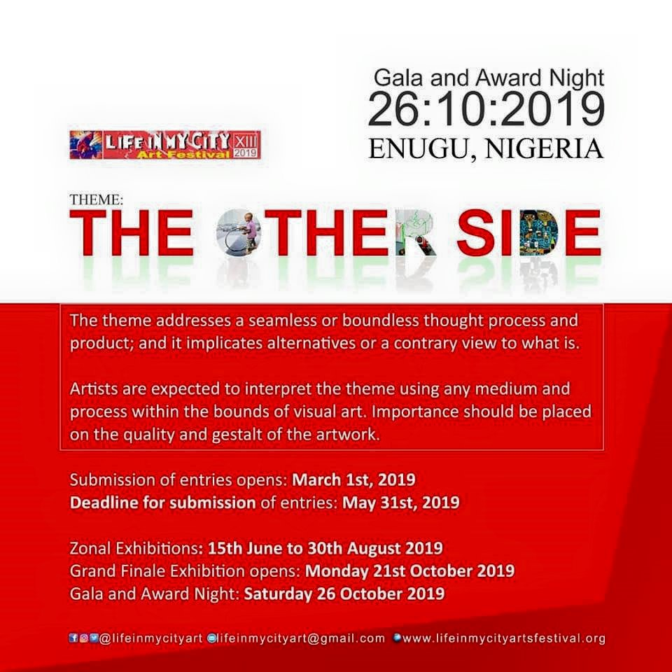 "Life in My City Art Festival 2019 ""The Other Side"""