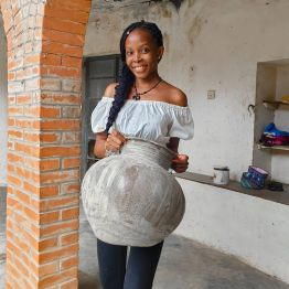 The Ladi Kwali Pottery Center which used to be the Abuja Pottery was established as a pottery training center in 1952