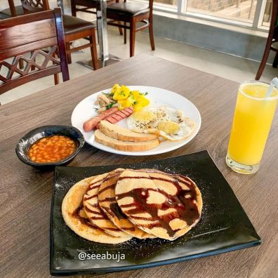 Puzzos Restaurant: You Go To Place For Breakfast In Abuja