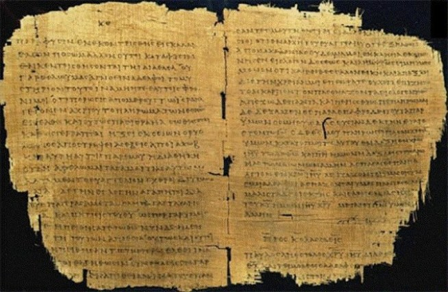 Image result for bible manuscripts greek gospel