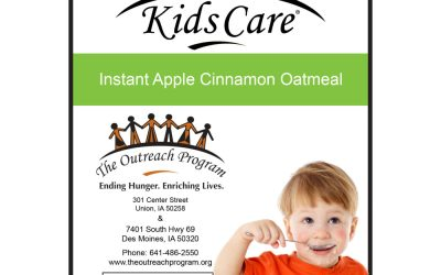 ANNOUNCING: The Instant Apple Cinnamon Oatmeal for Your Next Packaging Event!