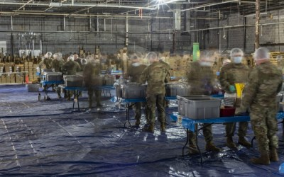 The Outreach Program, National Hunger-Fighting Nonprofit Salutes The Kansas National Guard for Helping Package Over 5 Million Meals for People Affected by Food Insecurity Due to COVID-19