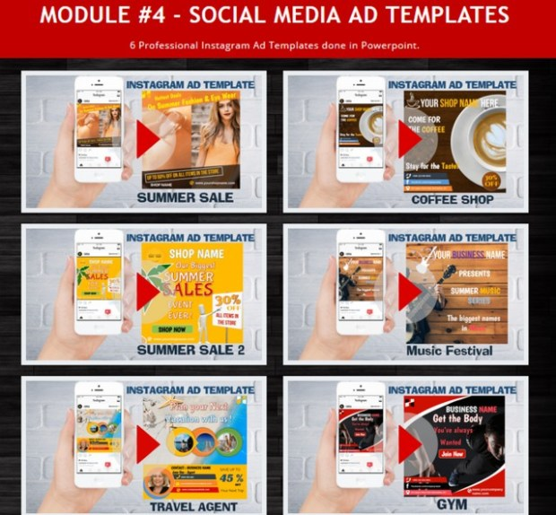 VidGraphix Toolbox PLR Firesale Video Templates By Dr Roger Smith - Instagram ad template