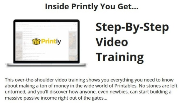 Printly 2.0 Video Training by Brendan Mace
