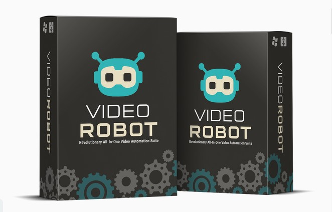 VideoRobot Video Creation Platform Software by Todd Gross And Paul Ponna Review - Best 'All-Inclusive' Video Platform Software To Create Next Generation Pro-Quality Videos In Any Language or Niche Within Minutes Includes 300 Ready-Made Video Templates, Flexible Blank Video Canvas, Maximize Reach & Engagement, Commercial License Included And Effortlessly Create Videos In Multiple Formats Such As Live Action, Whiteboard Animation, 3D Avatar, Presentations & Explainer Videos, Kinetic Motion And Sales