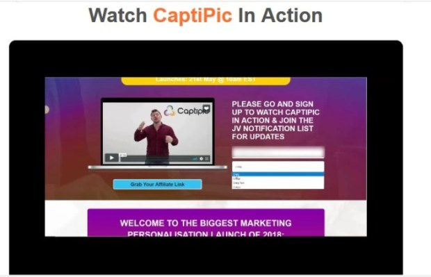 CaptiPic Marketing Personalization Tool Software by Craig Crawford
