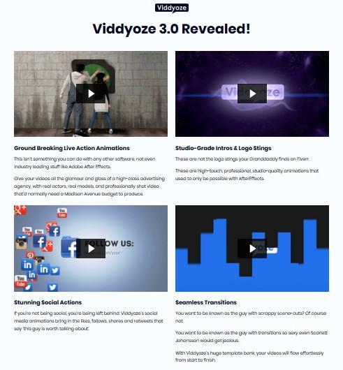 Viddyoze 3 0 PRO Commercial Video Animation   JVZOO RESEARCH