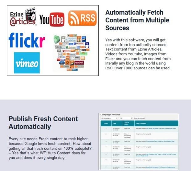 WP Auto Content WordPress Plugin Software by Ankur Shukla