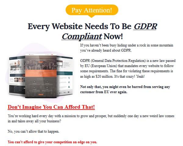 WP GDPR Fix PRO Plugin Software by Cyril Gupta