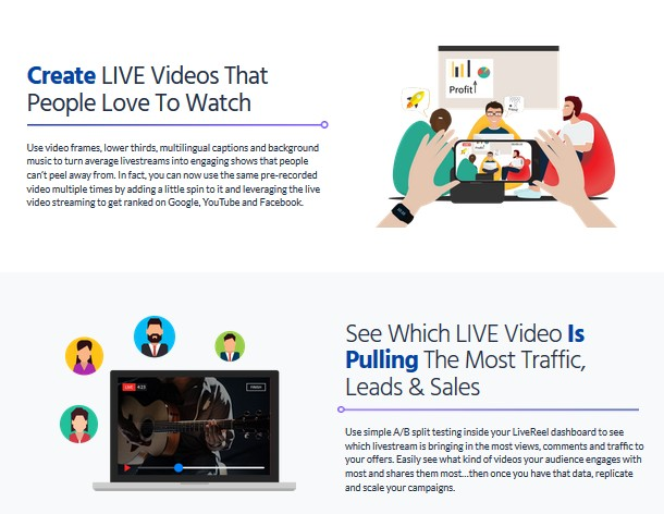 LIVEreel Live Videos Software by Abhi Dwivedi [Vega6]