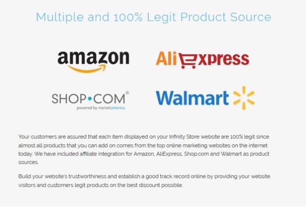InfinityStore Amazon eCommerce StoreBuilder | JVZOO RESEARCH