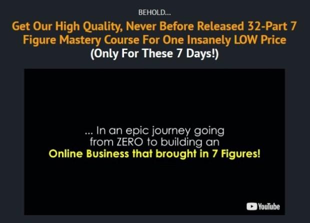 7 Figure Firesale PLR Mastery Training Oto   JVZOO RESEARCH