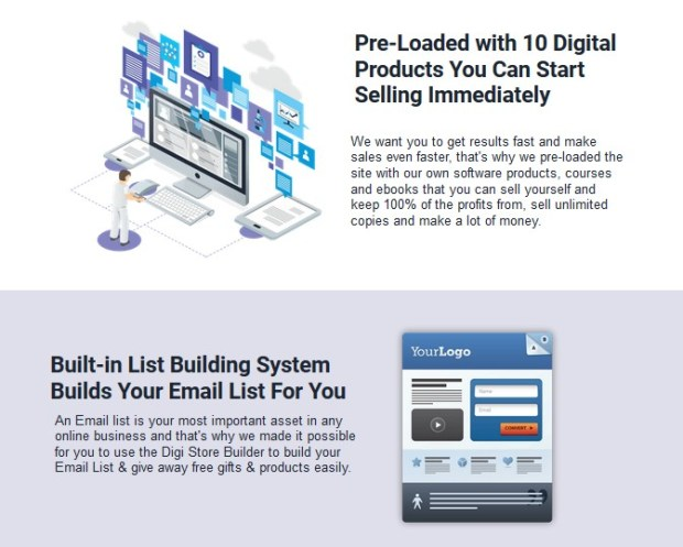 Digi Store Builder PRO OTO Upsell Review | JVZOO RESEARCH