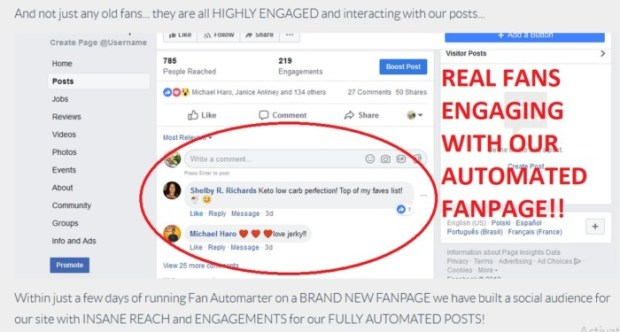 Fan Automater FaceBook FanPages Builder Software by Dan Green