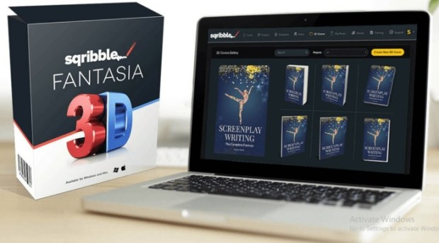 Sqribble FANTASIA 3D Upgrade OTO Software by Adeel Chowdhry