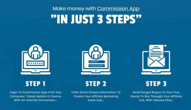 Commission App by Billy Darr
