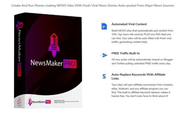 NewsMakerPro | JVZOO RESEARCH