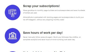"""ATHENA SUITE Turn Any Instagram Account Into a """"Traffic and Cash Conduit"""""""