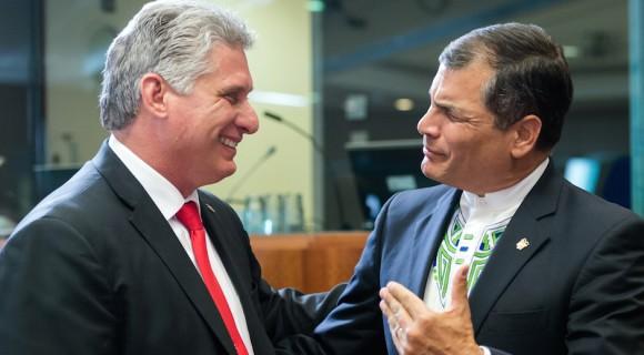 Equador e Cuba defendem união contra ordem mundial imoral