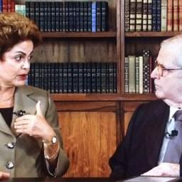"""Assista à íntegra da entrevista de Dilma no """"Programa do Jô"""""""