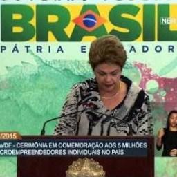 Presidenta Dilma comenta significado da marca de 5 milhões de Microempreendedores