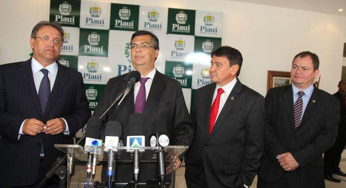Ligação Maranhão-Piauí terá seis pontes, anuncia Flávio Dino (PCdoB)