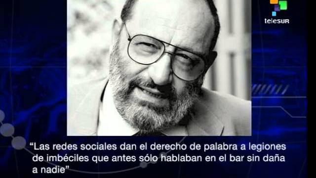 Umberto Eco: internet deu a palavra para uma legião de imbecis
