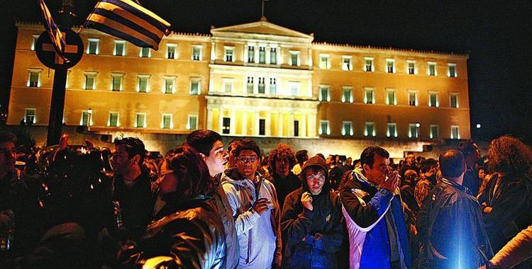 """Futuro da democracia grega entre o """"sim"""" e o """"não"""""""