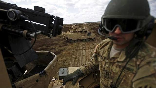 EUA planejam enviar tropas para o Leste Europeu