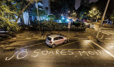 Fascistas ameaçam Jô Soares por entrevista com Dilma Rousseff