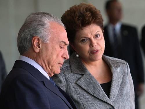 Michel Temer, Aldo Rebelo, Gilberto Kassab e Delcídio Amaral: impeachment está fora de cogitação