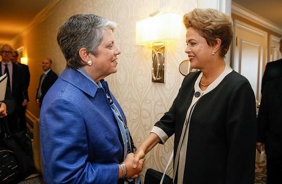 Presidenta Dilma comenta parceria com universidades norte-americanas