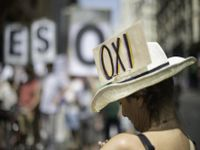 """O significado no """"não"""" na Grécia para a Europa"""