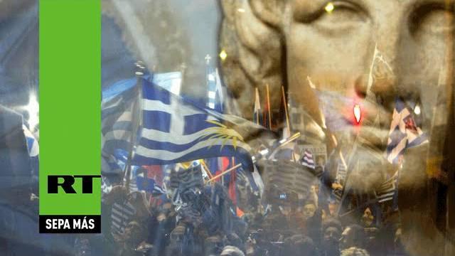 """A Grécia está fazendo uma """"pequena revolução"""""""