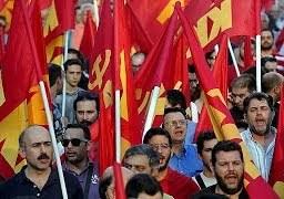 Comunistas gregos defendem boicote a plebiscito