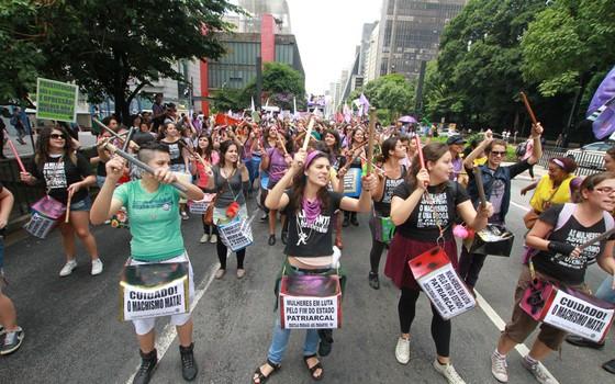 A causa da Virada Feminista em São Paulo
